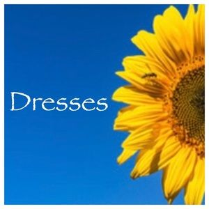 All my dresses. All sizes xsmall to xlarge